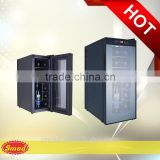 BCW-35F (Touch screen door) 220V50HZ R600A 12-bottles humidity control wine cooler and the temperature of a refrigerator