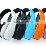 Wireless bluetooth headphone with Leather earplug - Bluetooth headphone- G3S for computer and mobile phone accessories