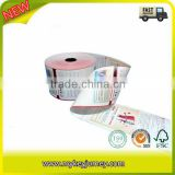 Banknote Good Image Bothside Printed thermal paper roll