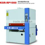 KSR-RP1000 double-head broad belt sander