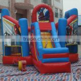 inflatable spider man bouncy castle / inflatable bouncer slide / inflatable jumping bouncer
