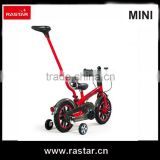RASTAR exclusive authorized MINI 4 wheel 12 inch children balanced training bicycle