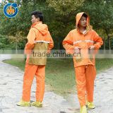 China hot selling motorcycle adult waterproof raincoat