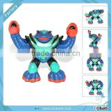 3D plastic action figurine with 6P free PVC, food grade ABS material, custom plastic figure
