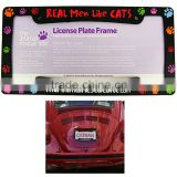 Passion New Product Car License Plate Frames USA market