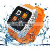 Android Bluetooth X01 Android WIFI GPS smart watch wifi with GSM WCDMA SIM Slot 3MP Camera 720P Dual Core