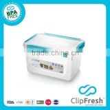 Clip Fresh Storage Box with Wheels 15L