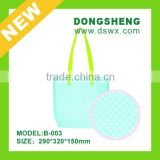2015 lady fashion designer canvas colorful handbag oem womens shopping hand bag high quality wholesale
