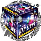 UFO Light 8 Shots/fireworks cake/wholesale fireworks/UN0336 1.4G consumer fireworks/fireworks factory direct price