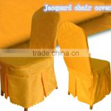 100% polyester jacquard modern chair cover/banquet chair cover/hotel table linen high quality chair cover