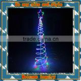 MAX180CM Flashing spiral tree modeling spiral christmas tree
