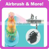 Cake Decoration Airbrush Kit with Mini Compressor                                                                         Quality Choice