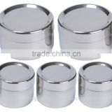 High quality Stainless Steel Snack Containers - Tiffin Sidekick - 5 Pack/stainless steel lunch box food container