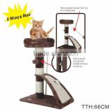 High Quality Cat scratcher tree With Sisal Board and Ramp