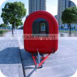 2014 New Style Foldable Street Kitchen Gum Ball Food Serving Shopping Trolley Trailer Cart XR-FC250 B