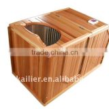 mini half sauna room carbon fiber sauna