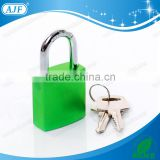 AJF new arrival china factory sale fashion square color aluminium padlock                                                                         Quality Choice