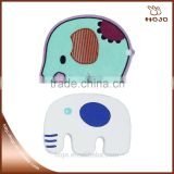white elephants and green elephants wooden craft 6pcs for children handcraft