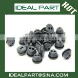 Electric double insulation silicone coil grommet