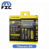 Electronic Cigarette Battery Charger Nitecore Digicharger D4 Battery Charger LCD Display Universal Nitecore D4 Charger