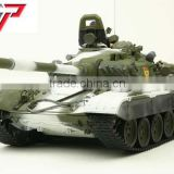 Russian T72 RC toy tank with BB shooting