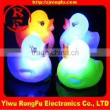 wholesale custom led flood light rubber duck led glow in the dark manufacturer & factory