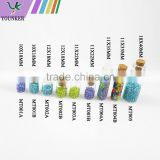 Cute mini small cork stopper glass bottles for wish bottle DIY craft