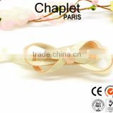 2015 new bow banana pin crystal cellulose acetate hair accessory for girls