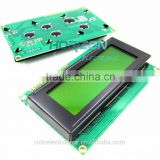 2004 20X4 Character LCD Display Module Yellow Blacklight