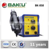 Hot sale low price BAKU SMD hot air rework staion( BK-858 solder station)