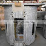 GW-1 1000kg Medium Frequency induction furnace heated by copper induction coil