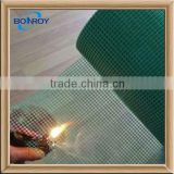 black fiberglass shade cloth