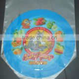 Printed pvc plastic heat shrinkable label