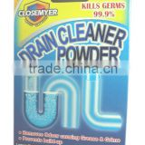 OEM/ ODM High Quality Eco-Friendly Powerful Powder Drain Cleaner 6 Sachets Inside Prevent Filth Buildup