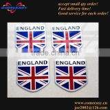 accept paypal promotion gifts aluminum England flag badge for car
