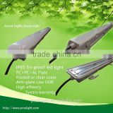 5 years warranty ip65 tri-proof light fixture,60w led vapor tight lamp