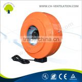 Foshan Factory direct supply 2'' to 14'' inline duct fan blower