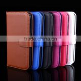 Leather Case for Samsung Galaxy s6 s6edge s7 s7 edge Stand Wallet Cover Cases with Card Slot Holder in Stock