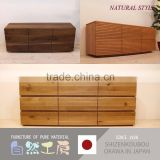 Top quality and spacious chest of drawer kitchen cabinets solid wood for warm atmosphere