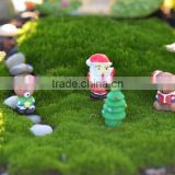 outdoor & indoor home garden wedding festival decoration miniature christmas resin santa figurines