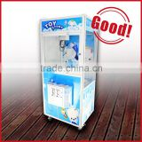 Kids candy crane machine with attractive cabinet prize vending machine toy crane machine for sale