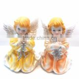 resin baby angel pots baptism gift