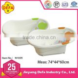 Jieyang Defa Industry high quality new promotion PP material Baby products baby bath tub with EN71 certification for wholesale