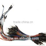65pcs/lot Jumper Wire Cable Male to Male Jumper Wire for Arduino Breadboard