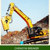 heavy duty 190mm chisel hydraulic breaker hammer for breaking rock