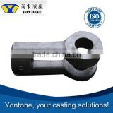 Yontone Factory Top Grade T6 Q215A Q215BF customized oem carbon steel stainless steel sand casting part for caps