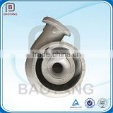 Cast ductile iron casting centrifugal water pump housing