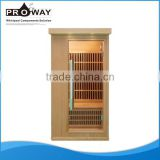 SN-05 Micro Carbon Heating Tourmaline Infrared Home Saunas Micro Heat Infrared Sauna for Sale