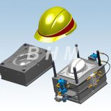 Injection Mould for Plastic Helmets