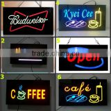 New invention electronic products customized image led resin sign for advertising and promotion